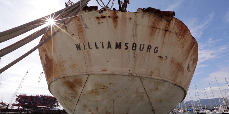 USS WILLIAMSBURG – Presidential Yacht for Sale