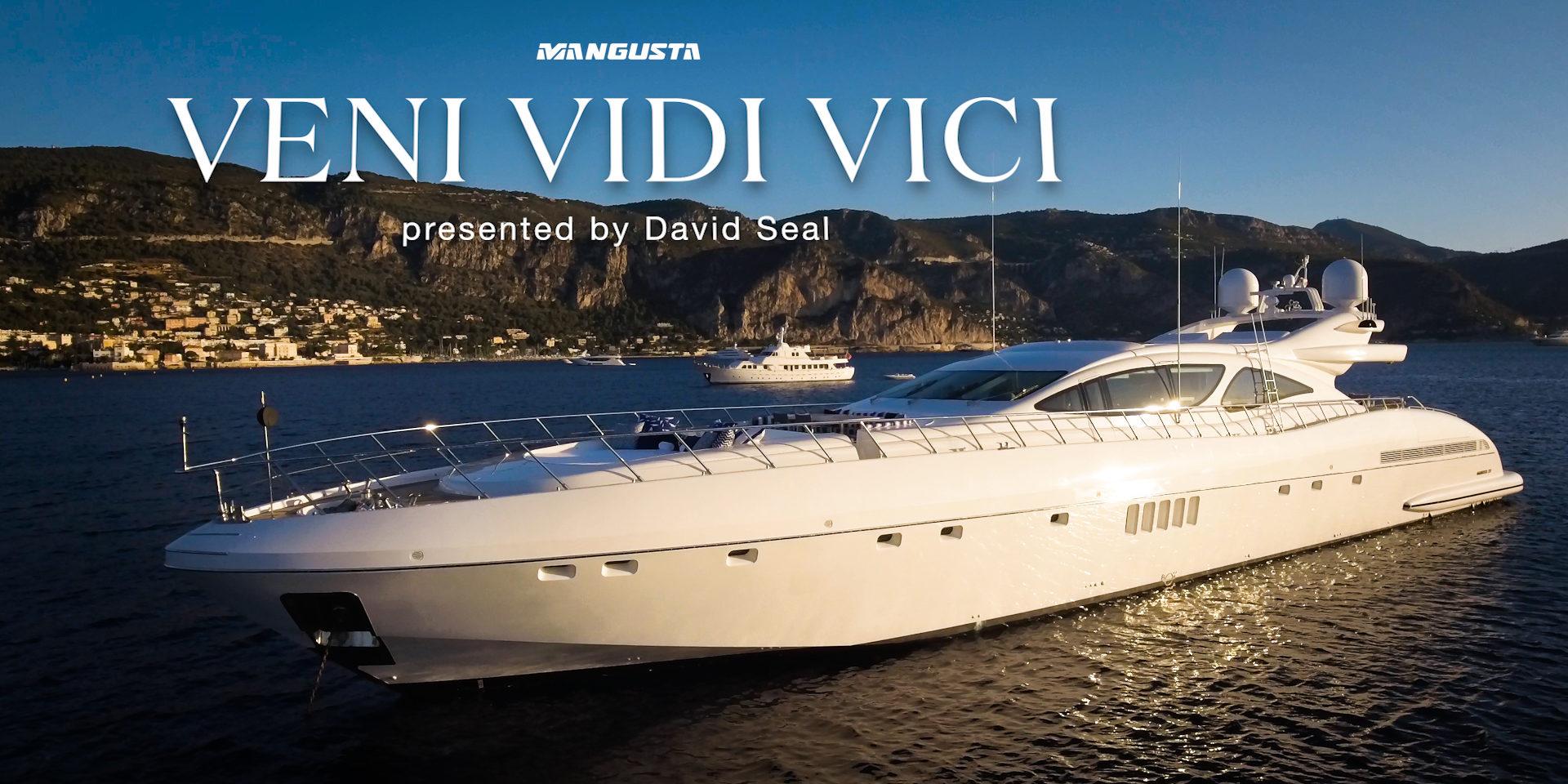 MANGUSTA 130 'VENI VIDI VICI' – SHORT DOCUMENTARY
