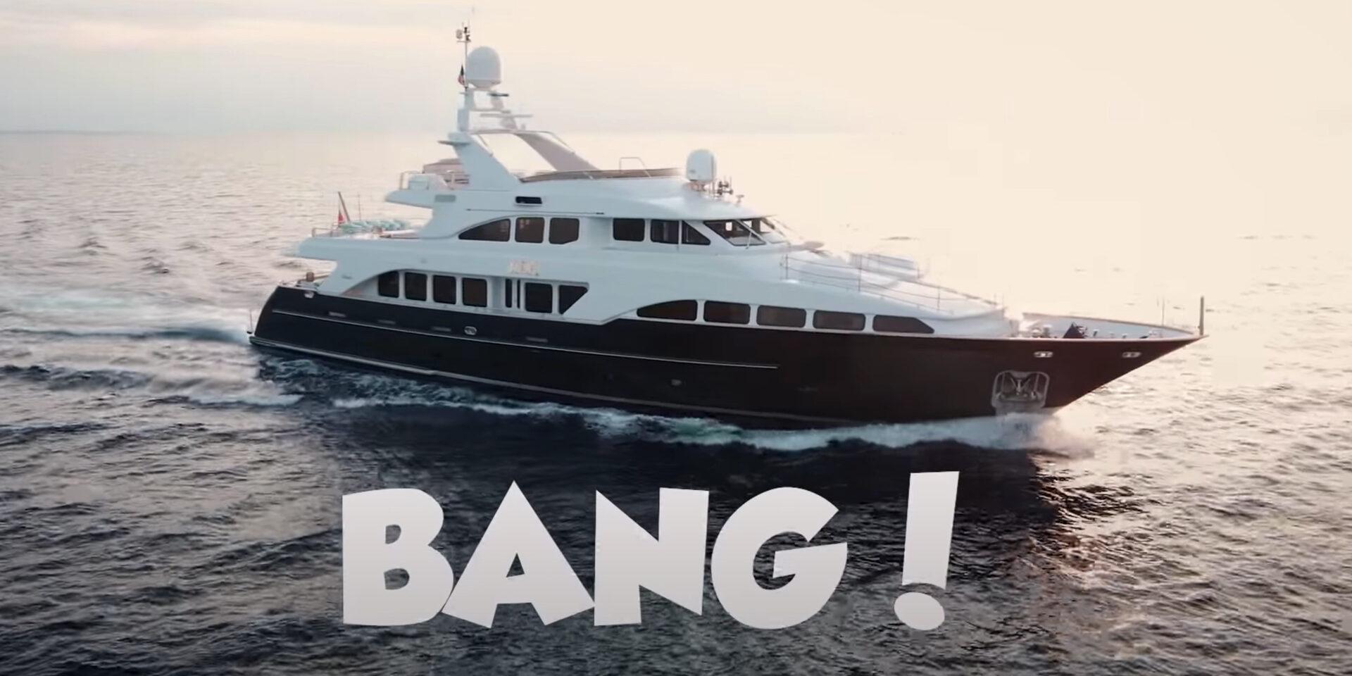 BENETTI CLASSIC 37m 'BANG' – SHORT DOCUMENTARY